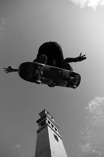 Cool skateboarding photography
