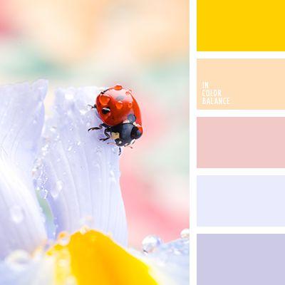 бледно-синий, нежные пастельные тона, нежный голубой, нежный желтый, нежный оранжевый, нежный розовый, нежный фиолетовый, пастельный оранжевый, подбор цвета, яркий желтый.