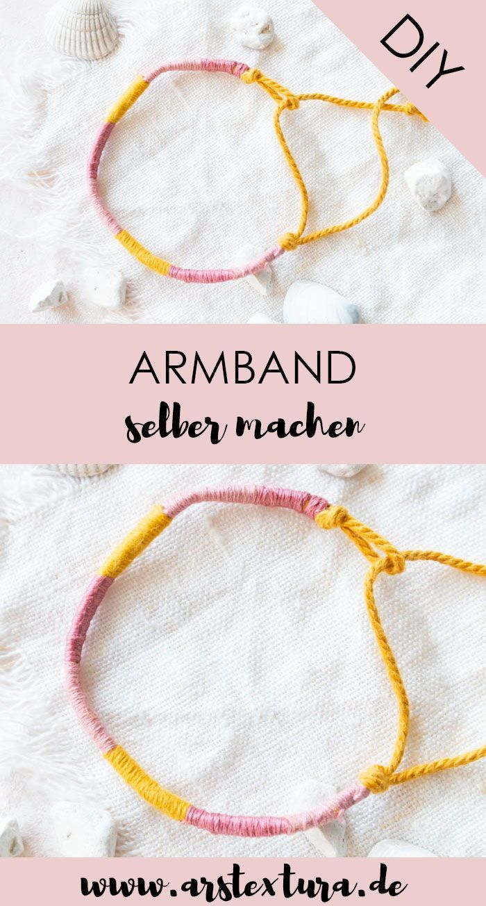 Einfaches Freundschaftsbandchen Selber Machen In 2020 Armband Selber Machen Freundschaftsbander Diy Armband Selber Machen Anleitung