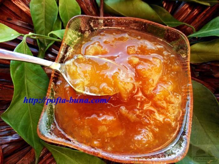 Dulceata de portocale-reteta italiana