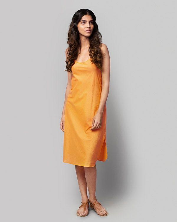 NICOBAR Basic Slip - Tangerine