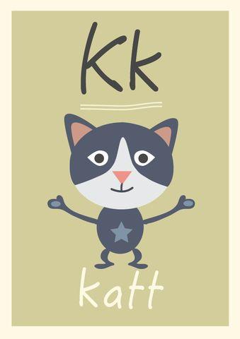 K alfabetdyr http://www.barneplakat.no