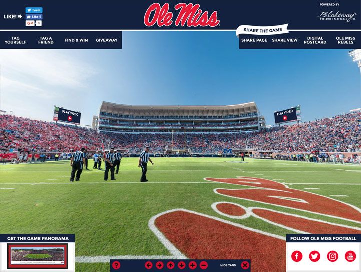 Ole Miss Rebels Gigapixel  September 24, 2016  https://gigapixel.panoramas.com/mississippi/football/20160924/