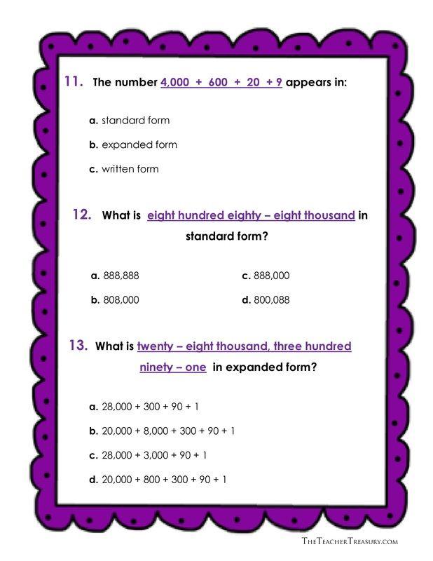12 besten Math Bilder auf Pinterest | Mathe-Arbeitsblätter ...