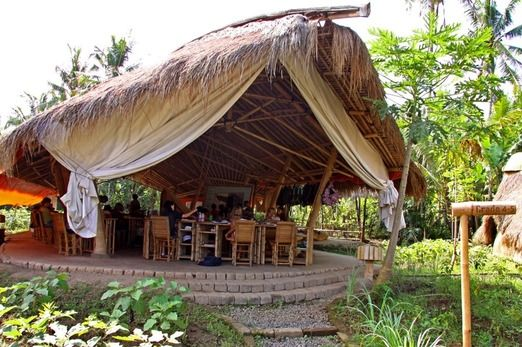 The Green School class room. Photo courtesy of The Green School via The Jakarta Post Travel.