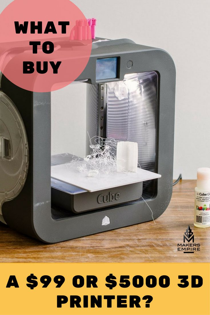 What to buy: a $99 or $5000 3D printer? Click to read our opinion!  Makers Empire helps K-8 schools harness the power of 3D printing to teach important STEM concepts, 21st century learning skills and design thinking in a fun and engaging way. Book a demo today www.makersempire.com