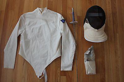 @fencinguniverse : Fencing Equipment Set Women's Right Hand Very Good Condition!  $100.00 (0 Bids) End Dat http://aafa.me/2jgbb9H http://aafa.me/2itvdvU