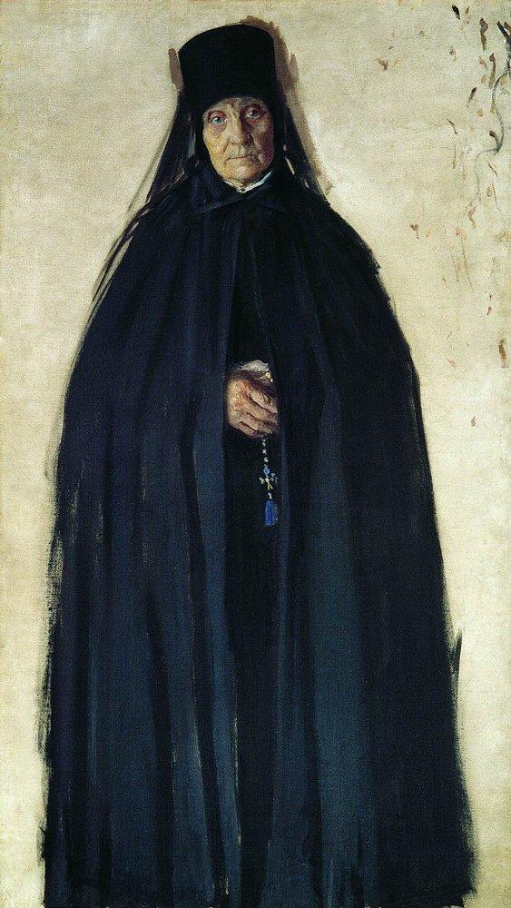 Abbess - Boris Kustodiev
