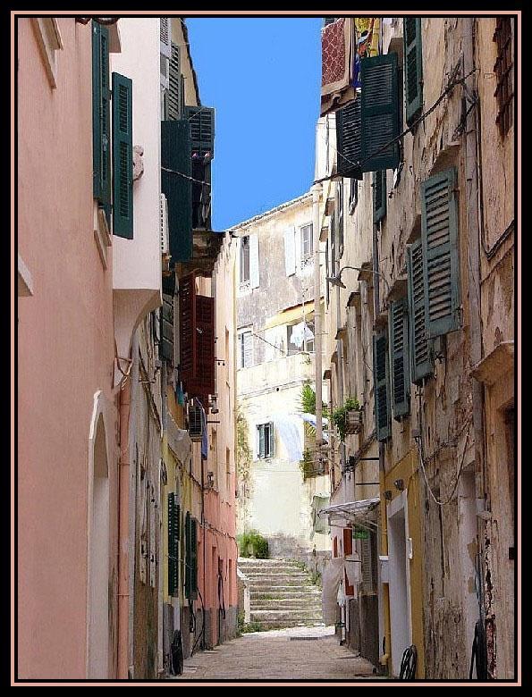 Old And New - Corfu, Kerkyra