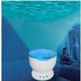 Ocean Waves Projector Lamp Projection / Romantic Christmas Gift LED Light Relaxing Ocean Project Pot  #multimedia projector