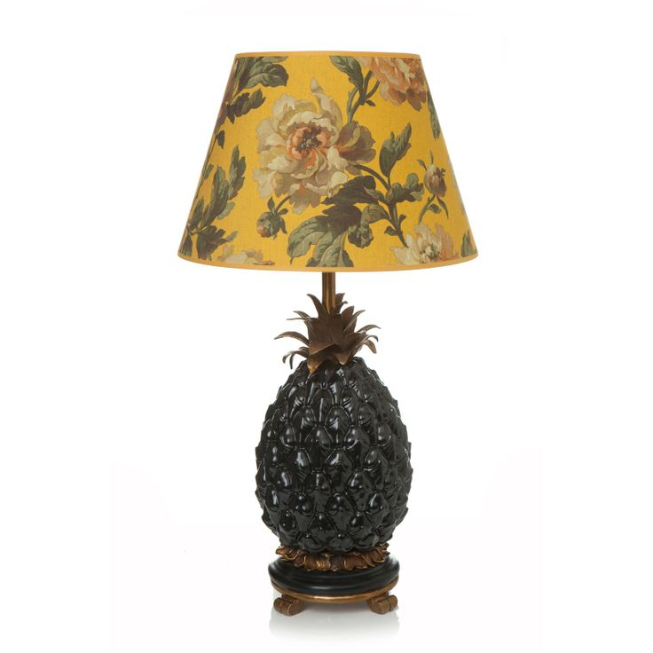 HOUSE OF HACKNEY 'ANANAS' Pineapple Lampstand - Black
