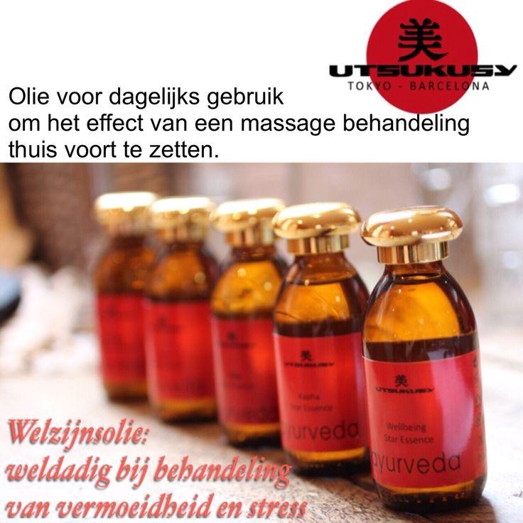 Heerlijke ayurvedische oliën voor professionals en thuis gebruik. Voor meer info www.utsukusy.nl