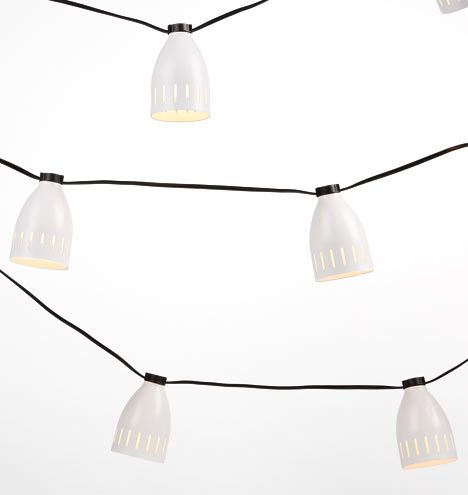 20 Mid-Century String Lights 21' Cord A7114