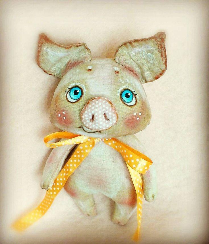 63 отметок «Нравится», 4 комментариев — Наталья Ратомская (@toy_minsk) в Instagram: «Кофейная свинка»