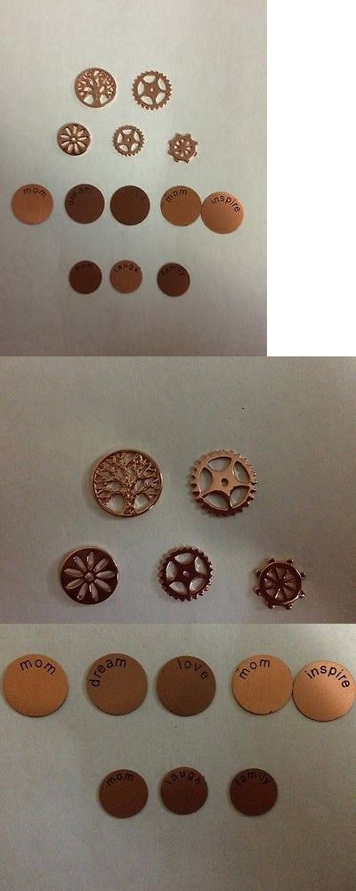 Pendants and Lockets 45079: 13 South Hill Designs Rose Gold Screens Coins -> BUY IT NOW ONLY: $90 on eBay!