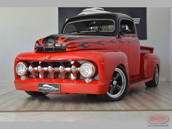 Ford F1 1951 – Maxicar.com.br – Carro antigo, pura nostalgia.