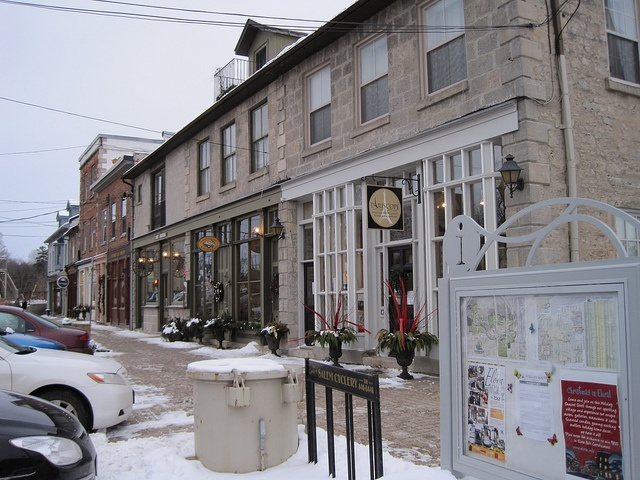 Elora's Mill Street West in Winter, Elora Ontario Canada by eloramews, via Flickr    Unique specialty shops on Mill Street West in the historic shopping district of Elora Ontario Canada (1-1/2 hours north-west of Toronto)