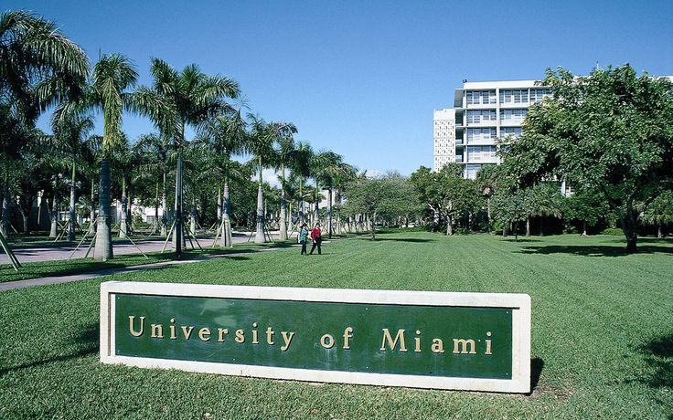 Entrance to the University of Miami. I can remember Mother going to Alpha Chi Omega  meetings on campus when I was very little.