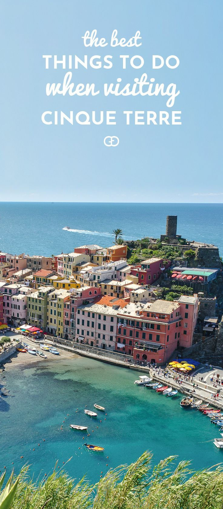 A bucket list spot in the heart of Italy! Cinque Terre is a unique paradise that will leave you without words! Here are the best things to do! If you are planning to go, you need to pin this!