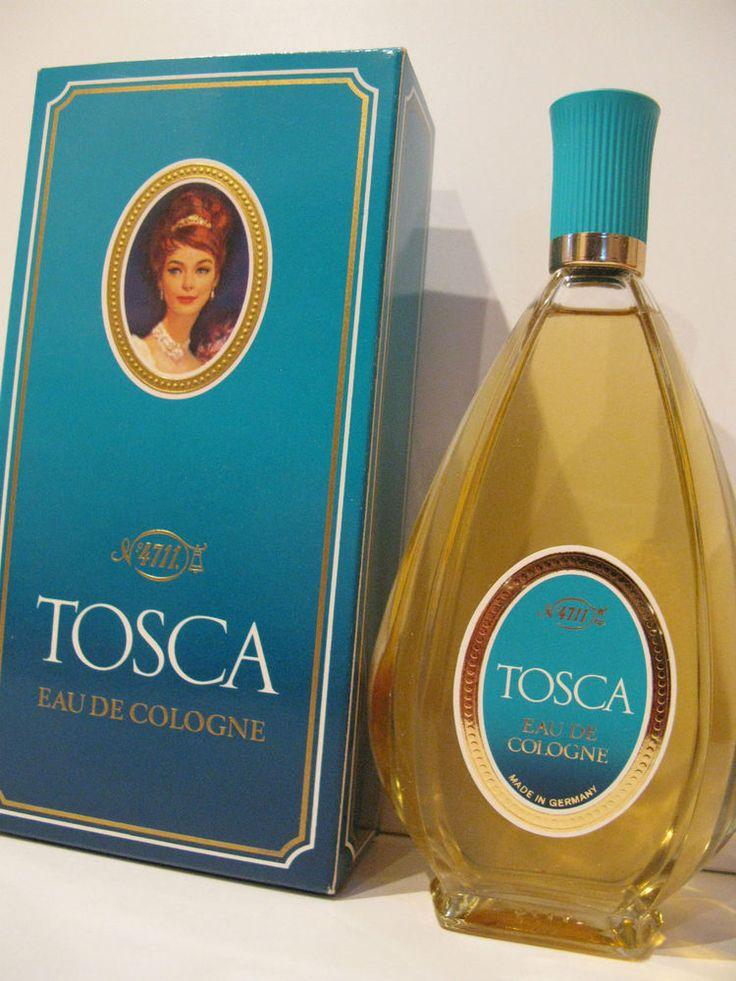 PROFUMO DONNA TOSCA 4711 EAU DE COLOGNE VINTAGE RARE PARFUM FEMME WOMAN COLONIA