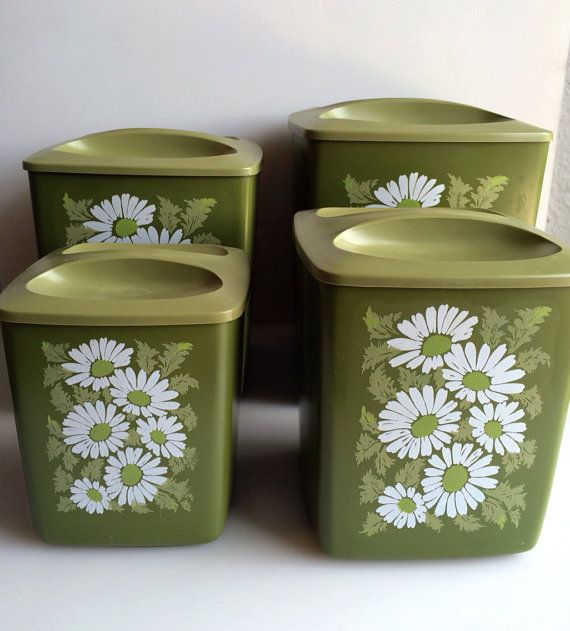 Green Kitchen Canisters: 1000+ Images About Canister Sets On Pinterest