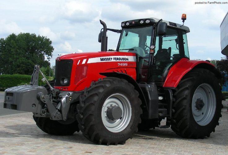 Massey ferguson 7499 massey ferguson tractors ford et vehicles - Dessin de tracteur massey ferguson ...
