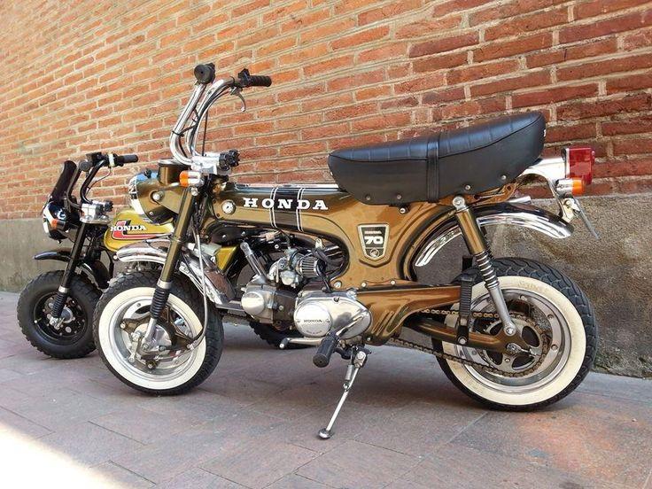 Honda Dax restauré au top