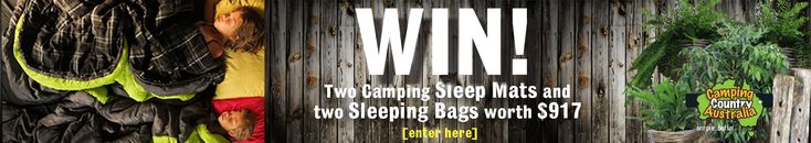 Enter to win a Camping Sleeping Kit worth $917! https://www.campingcountryaustralia.com.au/camping-sleeping-kit-competition-time/contest/2745ed3d25