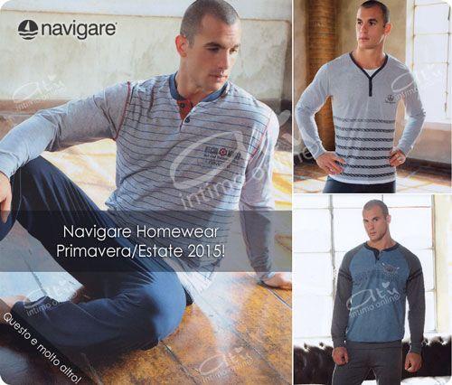 Pigiami Uomo. Le nuove proposte Navigare per la primavera/estate. #pigiamiuomo #navigare #moda http://www.atyintimoonline.it/133-pigiami-uomo