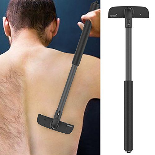 Back Shaver, Xpreen Stretchable Back Razors for Men Adjustable Back RazorV. For product & price info go to:  https://beautyworld.today/products/back-shaver-xpreen-stretchable-back-razors-for-men-adjustable-back-razorv/