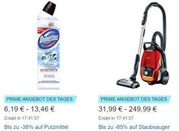 Amazon: Staubsauger-Rabattaktion mit sieben Modellen ab 31,99 Euro https://www.discountfan.de/artikel/technik_und_haushalt/amazon-staubsauger-rabattaktion-mit-sieben-modellen-ab-3199-euro.php Nur am heutigen Donnerstag sind bei Amazon sieben verschiedene Staubsauger zu Schnäppchenpreisen zu haben – mit dabei sind Handsauger, Saugroboter und Multifunktionsstaubsauger. Amazon: Staubsauger-Rabattaktion mit sieben Modellen ab 31,99 Euro (Bild: Amazon.de) Die Staubsauger