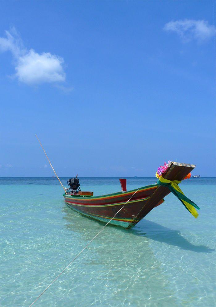 Koh Tao, ce rêve bleu… #KohTao #Thailande
