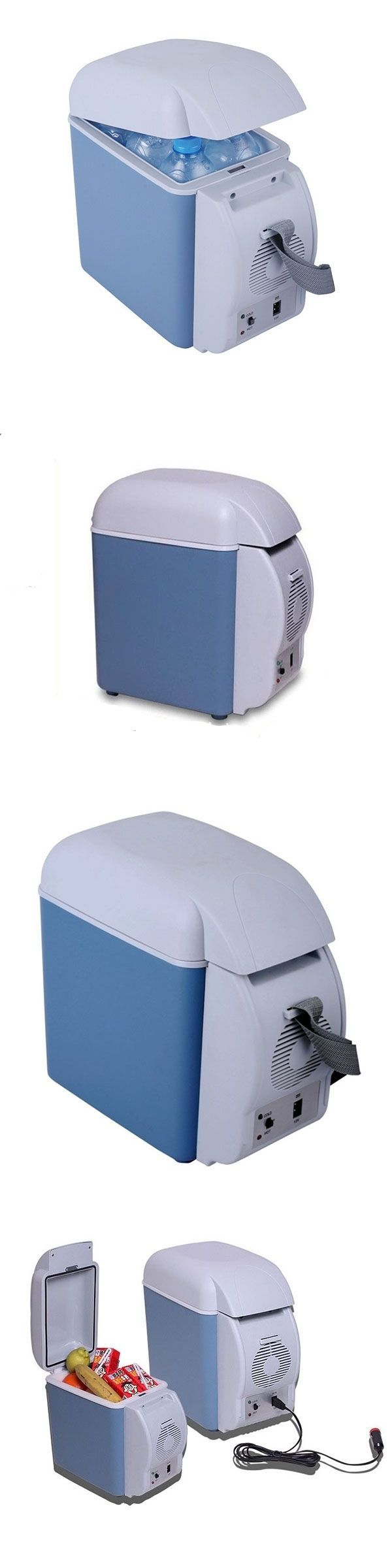 12-Volt Portable Appliances: 12V 7.5L Large Capacity Portable Car Refrigerator Cooler Warmer Dual Purpose BUY IT NOW ONLY: $33.99