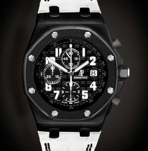 #customized #audemars #piguet #royaloak Order this High-end branded new AP watch which is Limited to 25 pieces with complete (DLC) Diamond-Like Carbon Coating