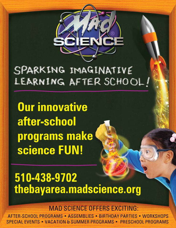 Back to School 2015—The Importance of After-School Programs |  Bay Area School