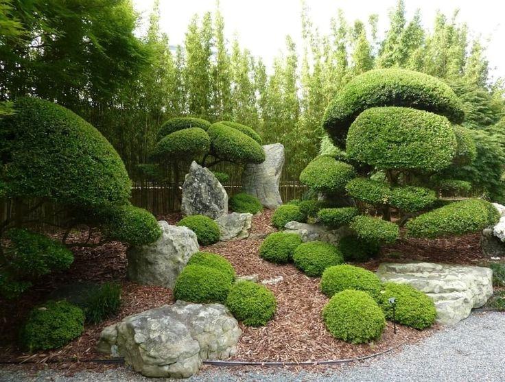 Very Artistic Garden Design! Posted In Contemporary Gardens, Japanese Garden,  Small Gardens