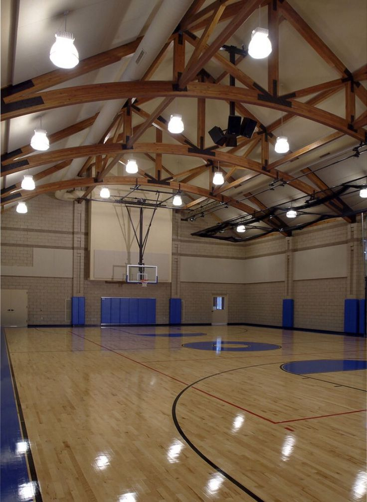 21 best indoor basketball court images on pinterest for Basketball gym floor plans