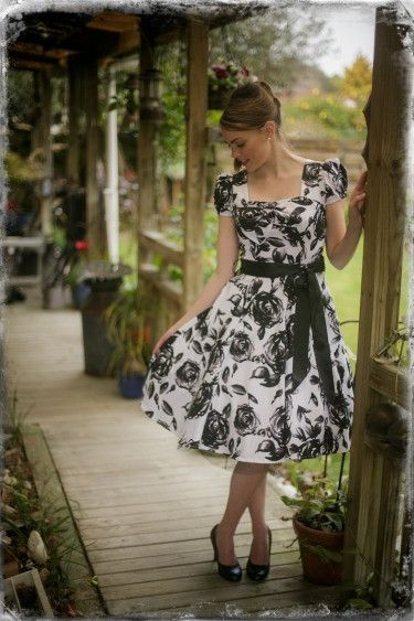Vintage Roses Dress