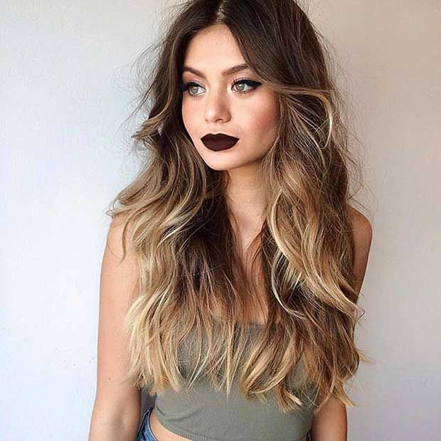 26 best color images on pinterest hair hairstyle and hair colour 27 stunning blonde highlights for dark hair pmusecretfo Image collections