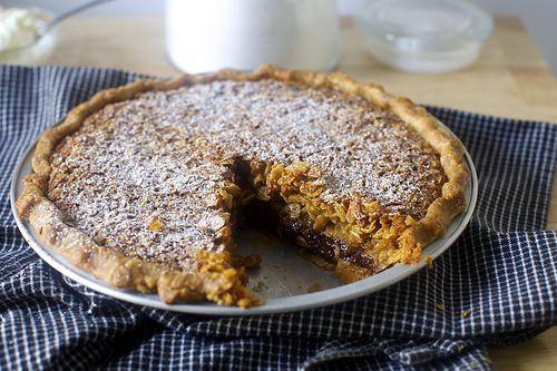 black bottom oatmeal pie http://smittenkitchen.com/blog/2015/03/black-bottom-oatmeal-pie/