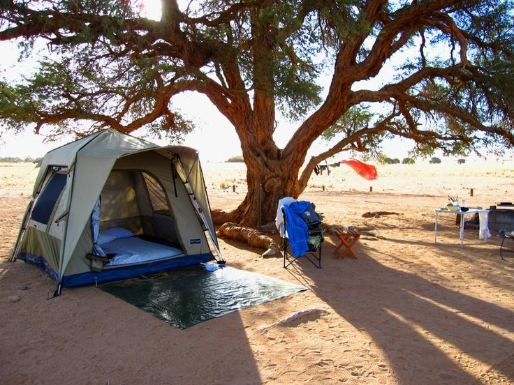 Camp stand No. 26, Sesriem, Namibia