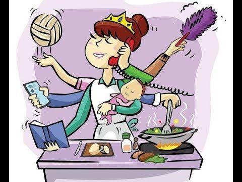 Скетч.Как сложно быть мамой и все успевать:))) Всем современным мамочкам...