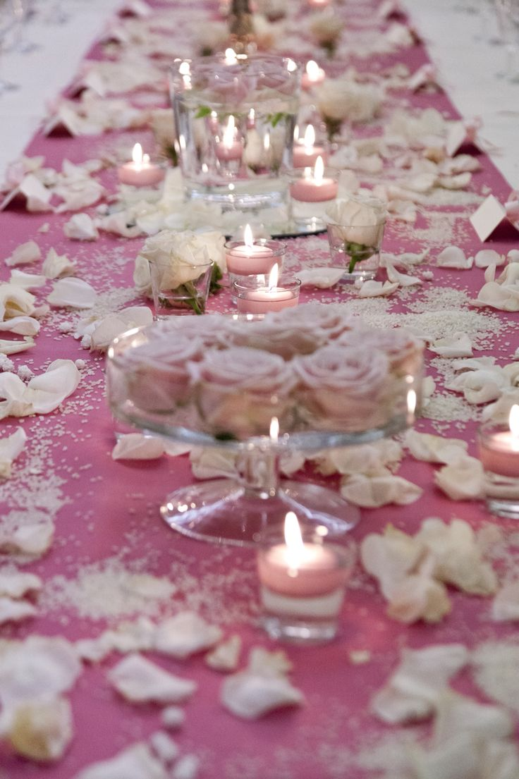 She loves pink...She loves roses... Made by us...Made by Ferrali Wedding Planner