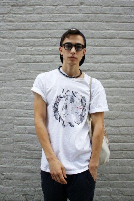 Men's casual street style   Sen Mitsuji