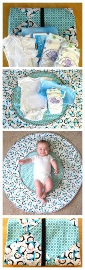travel diaper changing mat