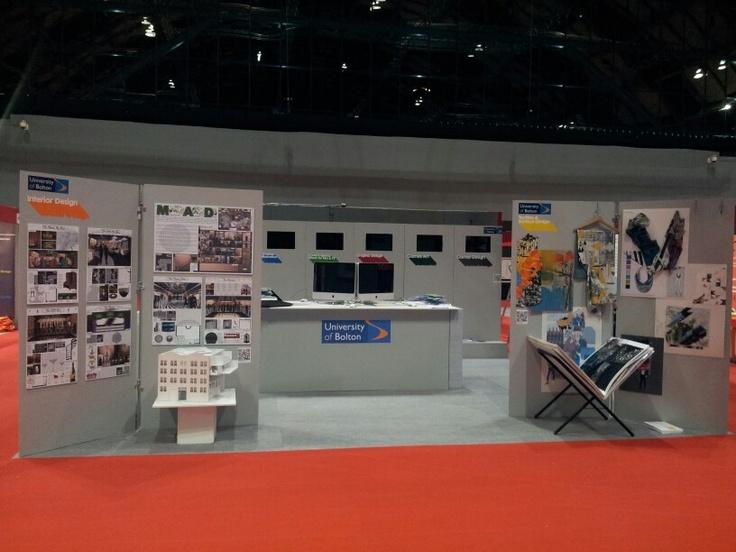 Exhibition Design For UCAS ExhibitionsUniversity