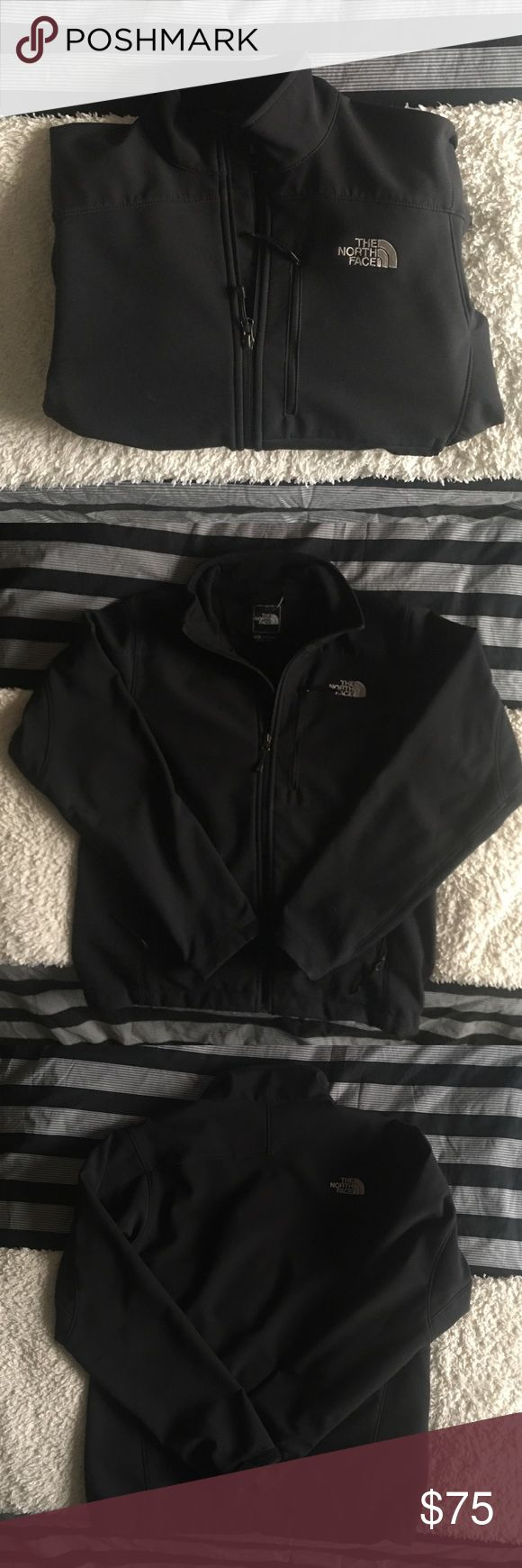 Men's North Face Apex Winter Coat I've had this North Face for awhile but it's honestly in great condition! It's a basic color that goes well with any type of pant! It's a casual look anyone can pull off! Let me know if you have anymore questions! The North Face Jackets & Coats