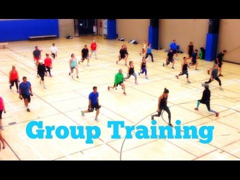Group Training - Boot Camp Exercise ideas - YouTube