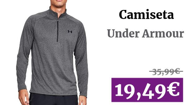 Alargar prisa Sabio  Under Armour Tech 2.0 Camiseta Media Cremallera - SS20 #Moda ✏ #vadegangas # Amazon #Camiseta #UnderArmour | Cremalleras, Camisetas, Under armour