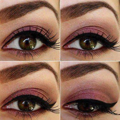 Sexy Makeup Looks: Cat Eye, Eyeliner, Brown Eye, Eye Shadows, Hazel Eye Makeup, Makeup Ideas, Eyemakeup, Eyeshadows, Eye Liner